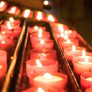 Candele - Tempo di preghiera