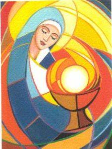 Maria eucaristica - Tempo di preghiera