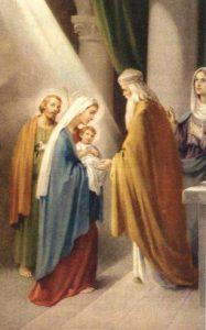Presentazione al Tempio di Gesù - Tempo di preghiera
