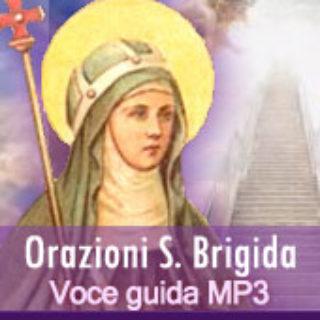 Orazioni di s. Brigida con voce guida - Tempo di preghiera