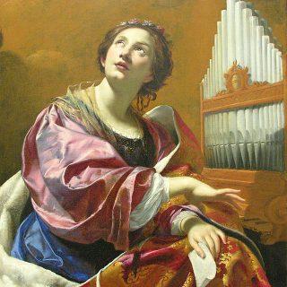 Vouet, Simon - Santa Cecilia - Tempo di preghiera