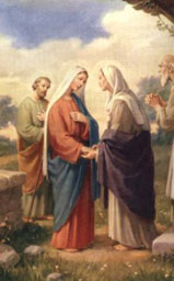 Visita a S. Elisabetta - Tempo di preghiera