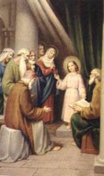 Ritrovamento di Gesù al Tempio - Tempo di preghiera