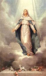 L'assunzione di Maria Santissima al cielo - Tempo di preghiera
