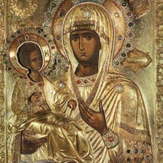 Icona della Madonna delle tre mani - Tempo di preghiera