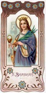 S. Barbara - Tempo di preghiera