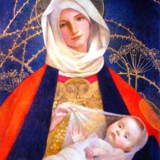Madonna con Bambino - Tempo di preghiera