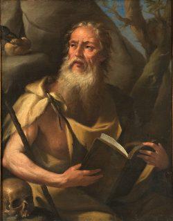 San Paolo di Tebe - Tempo di preghiera