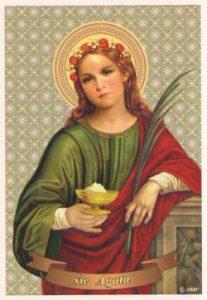 S. Agata - Tempo di preghiera