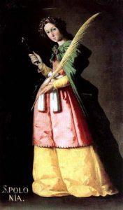 S. Apollonia - Tempo di preghiera