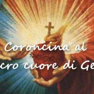 Coroncina al Sacro Cuore di Gesù Tempo di preghiera