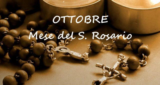 Ottobre mese del Santo Rosario - Tempo di preghiera