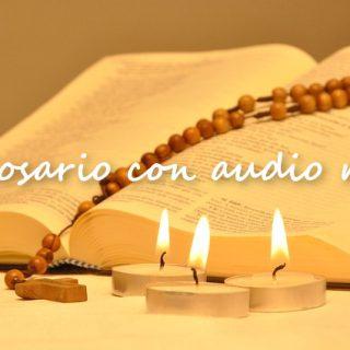 Santo Rosario con audio- Tempo di preghiera