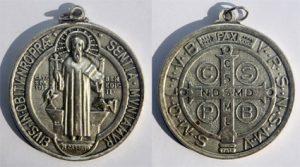 Medaglia S. Benedetto - Tempo di preghiera