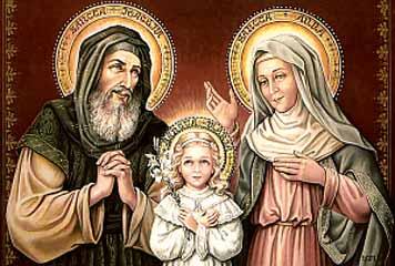 Santi Gioacchino ed Anna - Tempo di preghiera