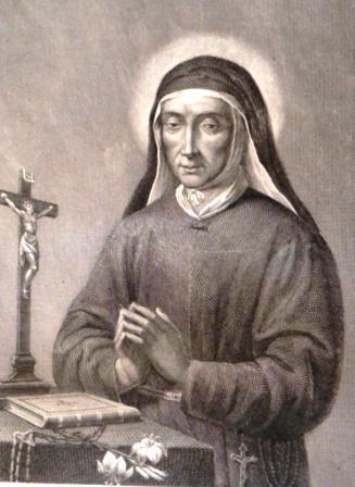 Preghiera a s maria francesca delle 5 piaghe per la for Immagini sacre da colorare