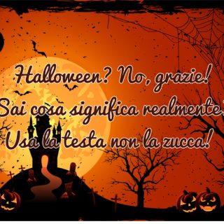 No halloween - Tempo di preghiera