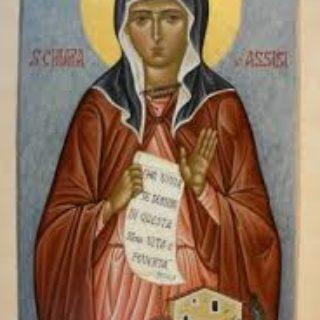S. Chiara -Tempo di preghiera