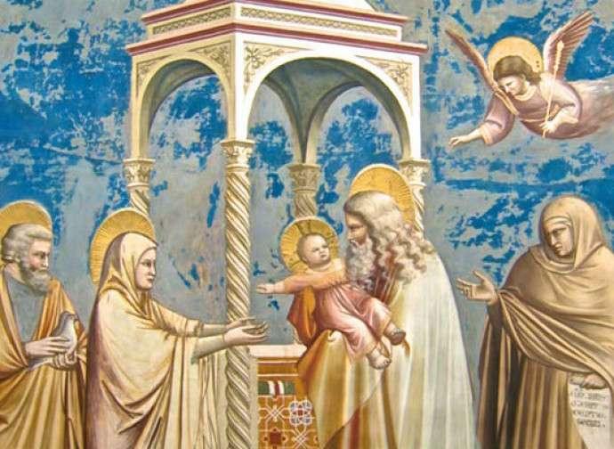 Presentazione al Tempio di Gesù Tempo di pregheira