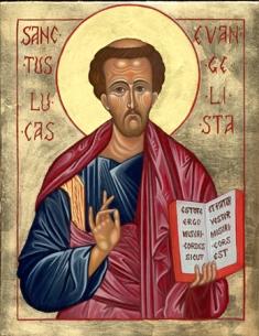 San Luca Evangelista - Tempo di preghiera