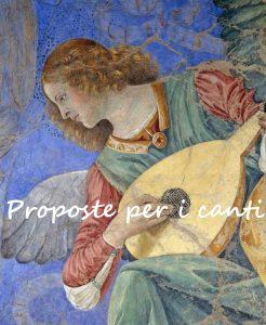 Proposte canti - Tempo di preghiera