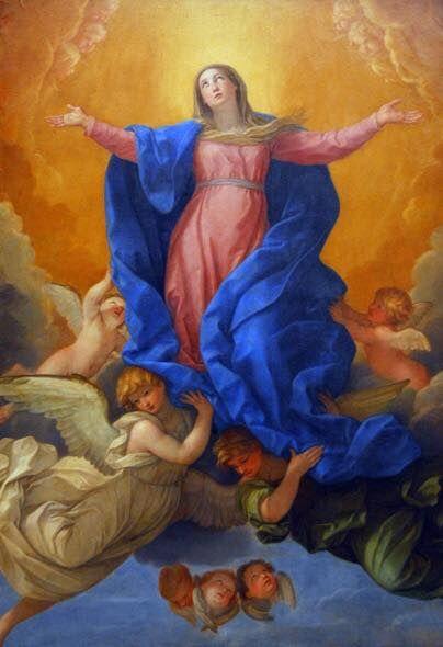 Assunzione Maria al Cielo - Tempo di preghiera