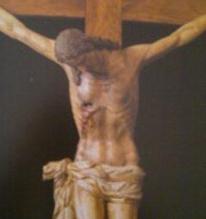 Crocifisso, del XIII sec, dopo il restauro - Tempo di preghiera
