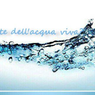 Acqua viva - Tempo di preghiera
