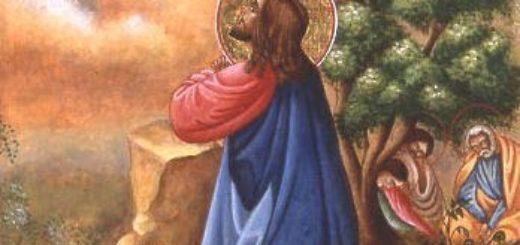 Gesù nell'orto degli ulivi - Tempo di preghiera