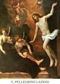 S. Pellegrino Laziosi preghiera dell'ammalato - Tempo di preghiera