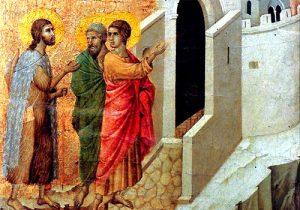 Gesù e discepoli di Emmaus - Tempo di preghiera