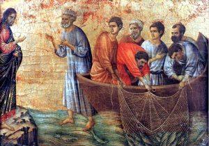 Gesùrisorto appare agli apostoli a Tiberiade - Tempo di preghiera