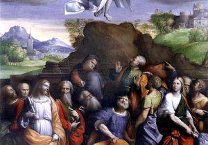 Gesùrisorto sale al cielo - Tempo di preghiera
