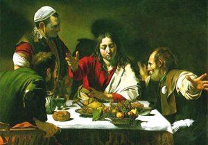 Gesù spezza il pane ad Emmaus - Tempo di preghiera