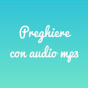 Preghiere con audio mpe - Tempo di preghiera