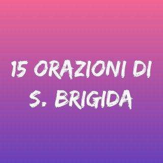 15 orazioni S. Brigida con audio mp3 - Tempo di preghiera