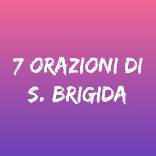 7 orazioni di S. Brigida con audio mp3 - Tempo di preghiera